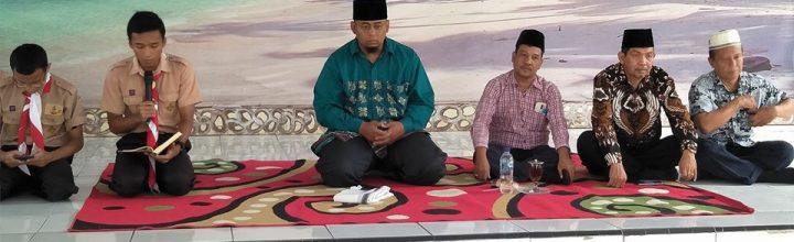 Doa Bersama Menjelang Ujian Semester di SMA Negeri 5 Binjai