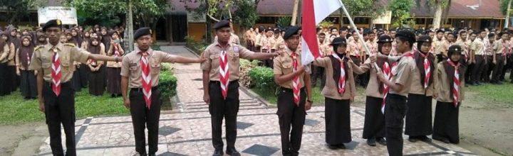 Perayaan HUT Pramuka ke 17 SMA Negeri 5 Binjai