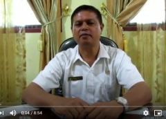 Kata Sambutan Pengenalan Lingkungan Sekolah Oleh Wakil Kepala Sekolah SarPras SMA Negeri 5 Binjai